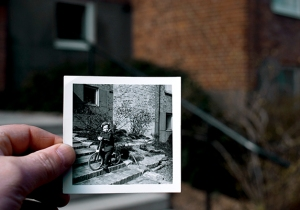 Claes på cykel i Helsingborg
