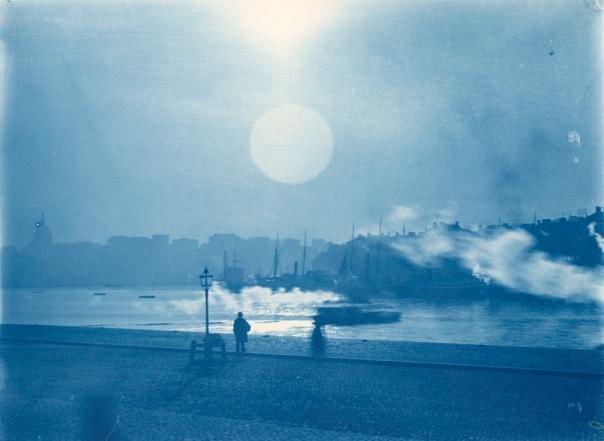 Foto: Carl Curman | Vy mot Gamla stan och söder, år 1900