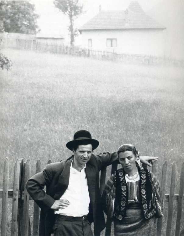 Foto: Paul Strand | Rumänskt par 1967