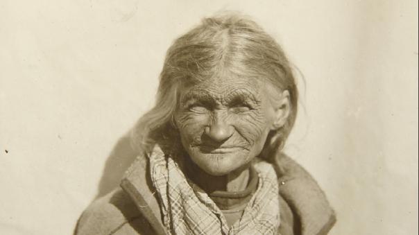 Okänd samisk kvinna | Gellivare, 1925
