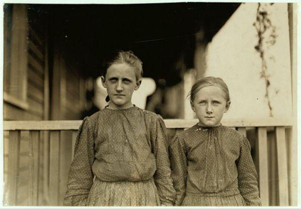 Minnie Carpenter. Foto: Lewis Hine, 1908