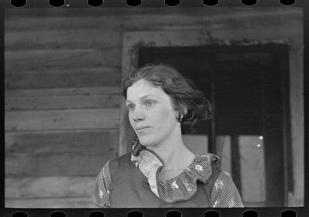 Foto: Russel Lee | Mrs. Gernie Marshall, near Ringgold, Iowa, jan 1937