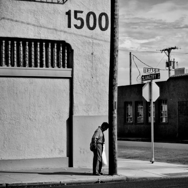 USA. El Paso, Texas. 2015. El Paso has a population of 649,121 and 21.5% live below the poverty level.